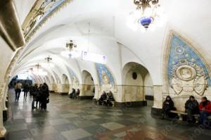 Станция метро греют Тепловые насосы